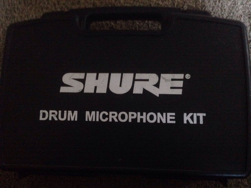 Shure 4 Piece Drum Mic Set