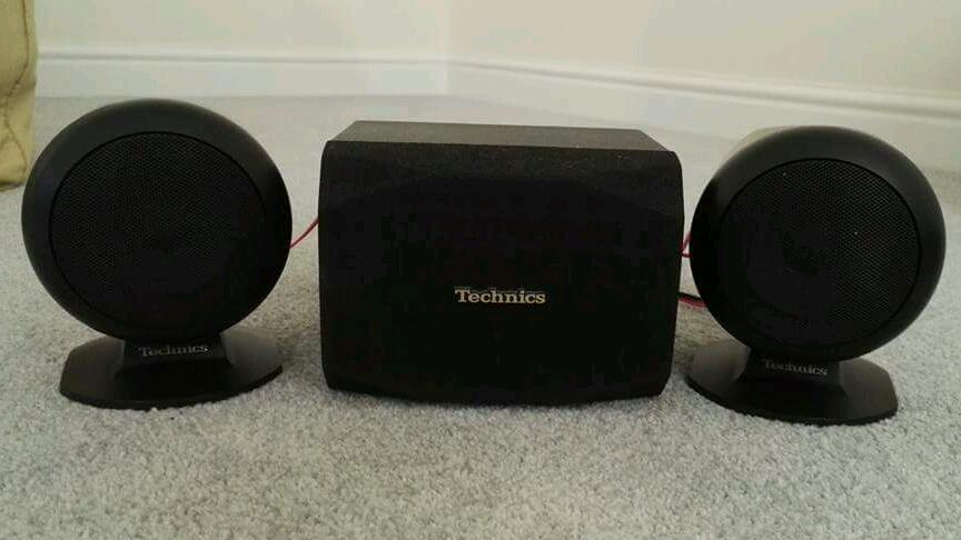 Technics Surround sound SpeakersRare set of Technics surround speakers.