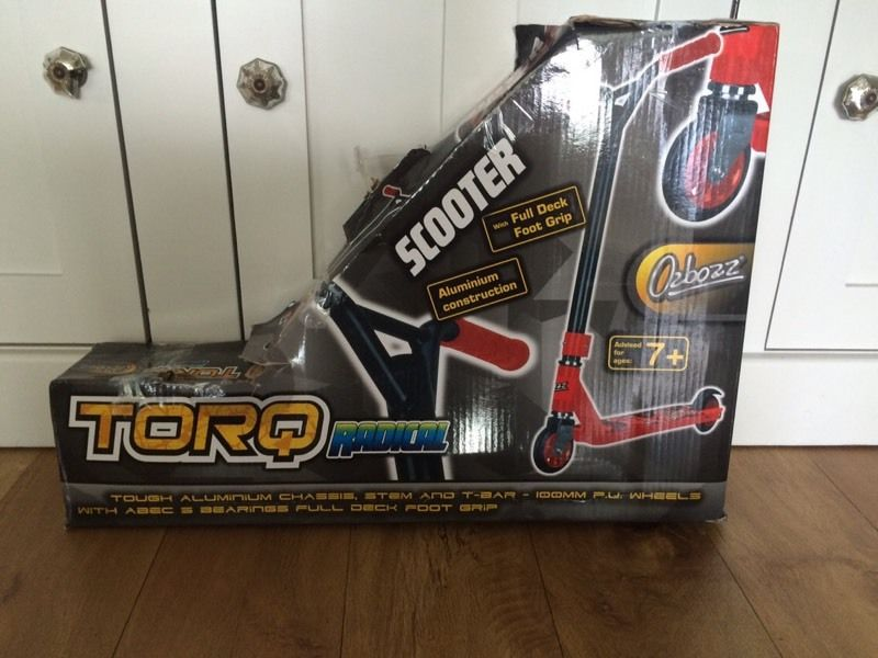 Stunt Scooter - Brand new in box.