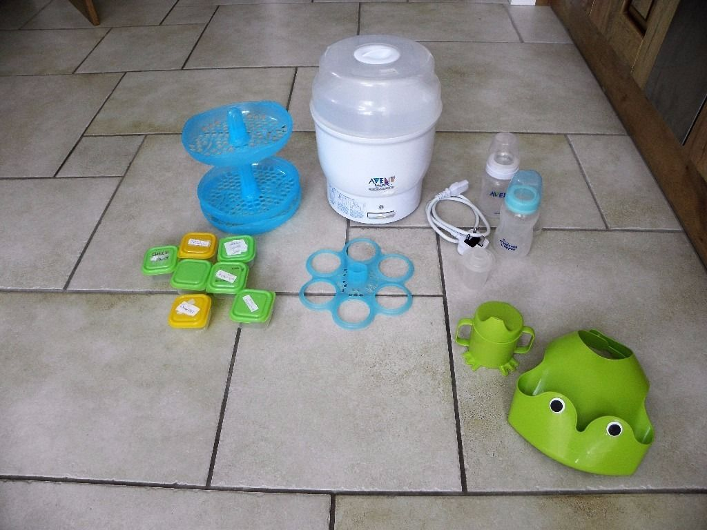 AVENT Bottle Steriliser & Weaning Equipment