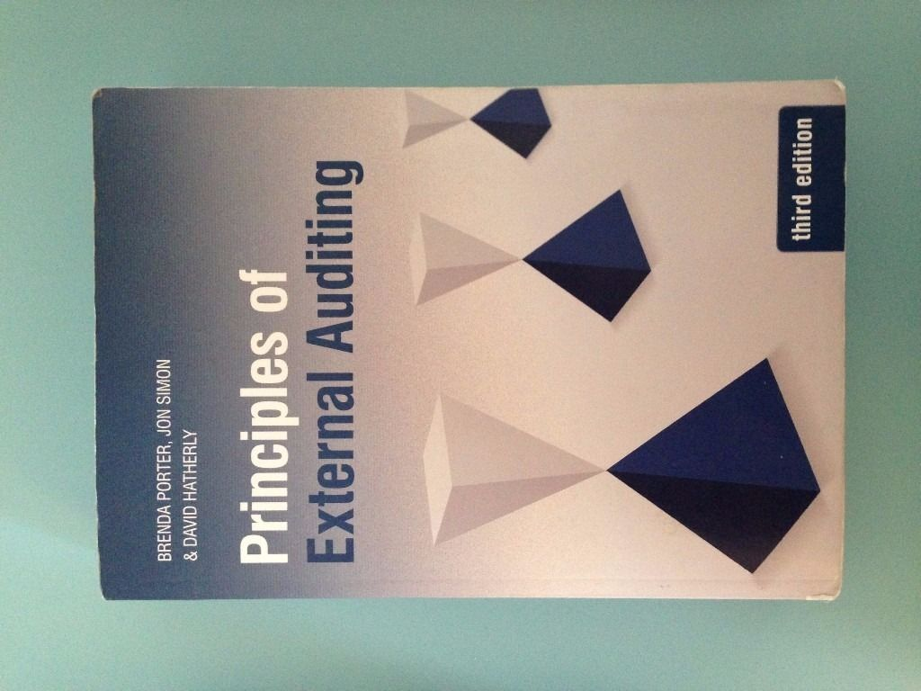 Principles of External Auditing, 3rd Edition. Porter, Simon & Hatherly
