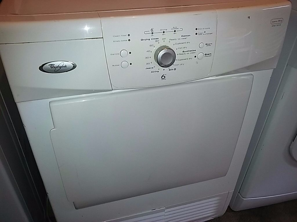 WHIRLPOOL Condenser Tumble Dryer