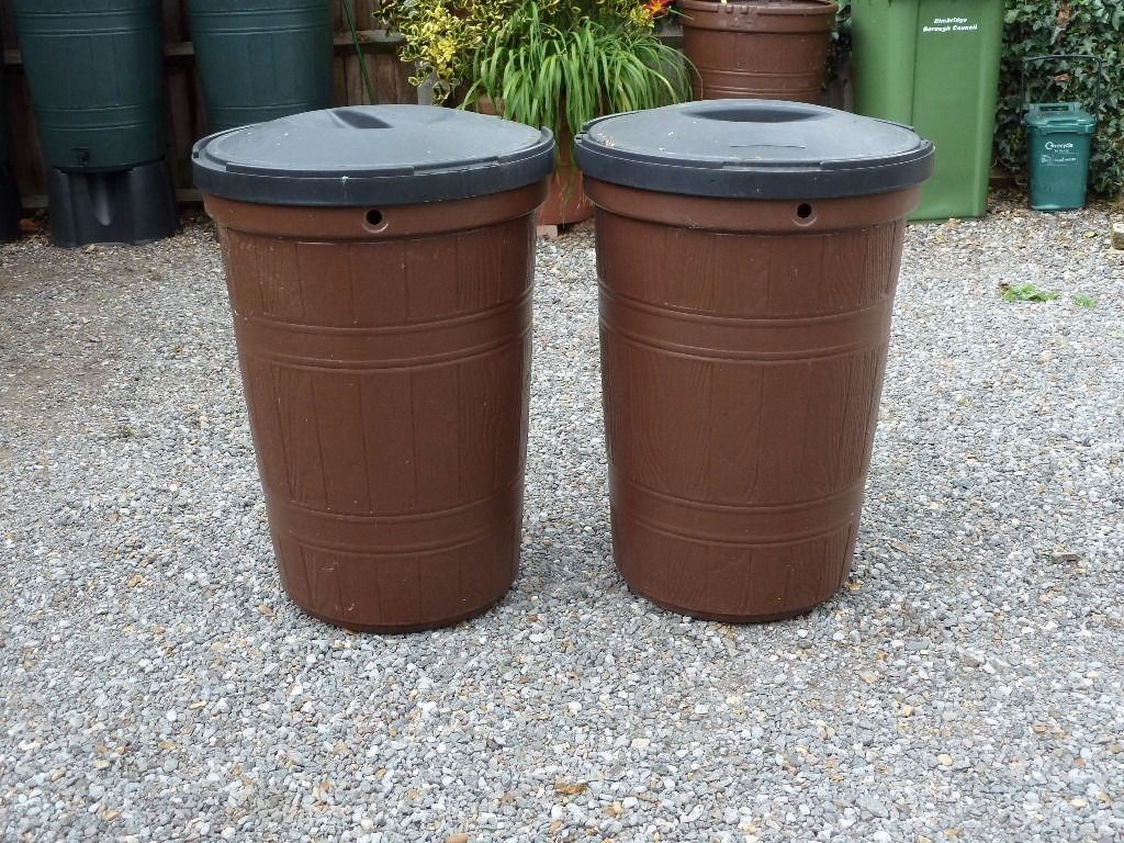 2 X Water Butts.... FREE....