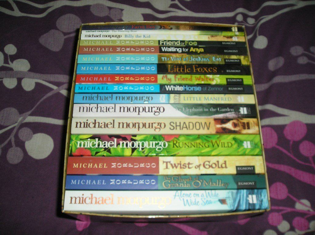 MICHAEL MORPURGO 16 BOOK BOX SET