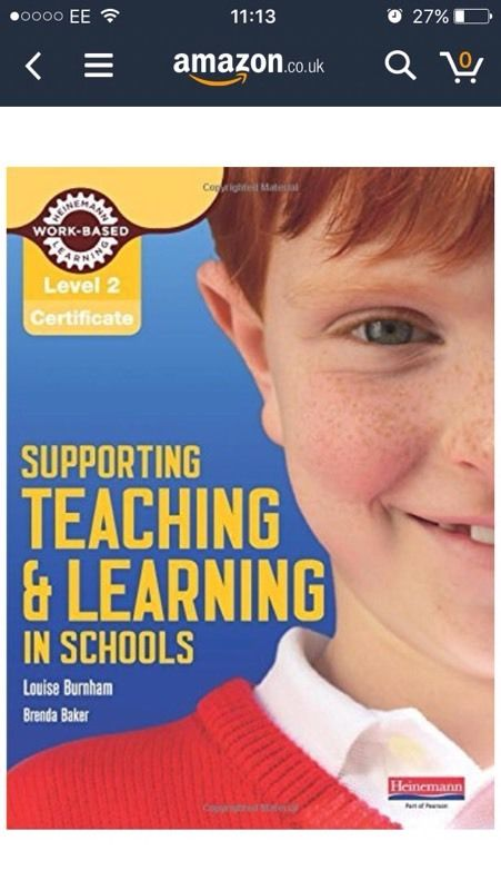 Supporting Teaching and learning level 2