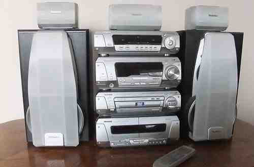 Dv290, 5 Dvd/Cd Loaders with 5 surrounding sound speakers