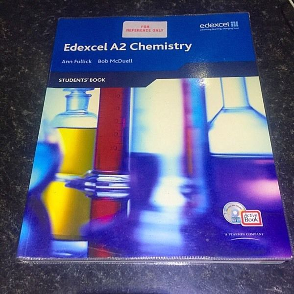 Edexcel A2 Chemistry students book
