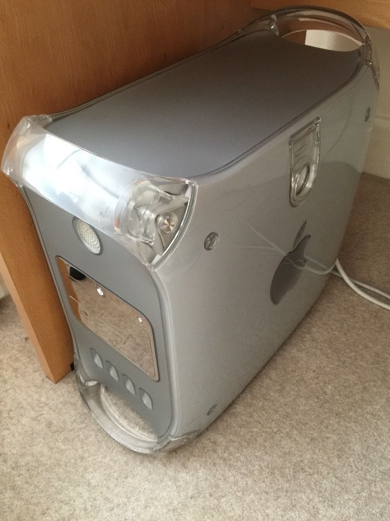 Apple PowerMac G4 with Apple cinema display