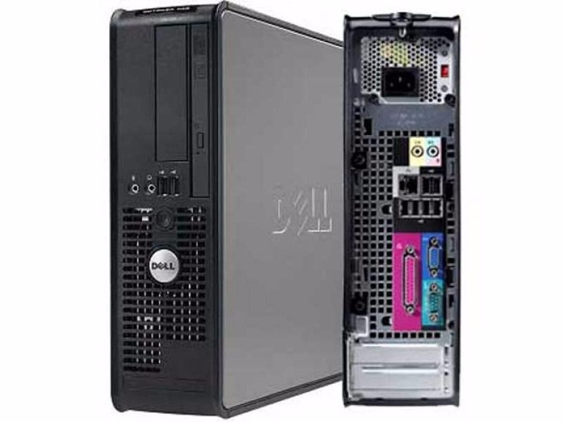 Fast Dell OptiPlex 745 C2D 2.4gHZ, WiFi ,4GB RAM, 250GB HDD