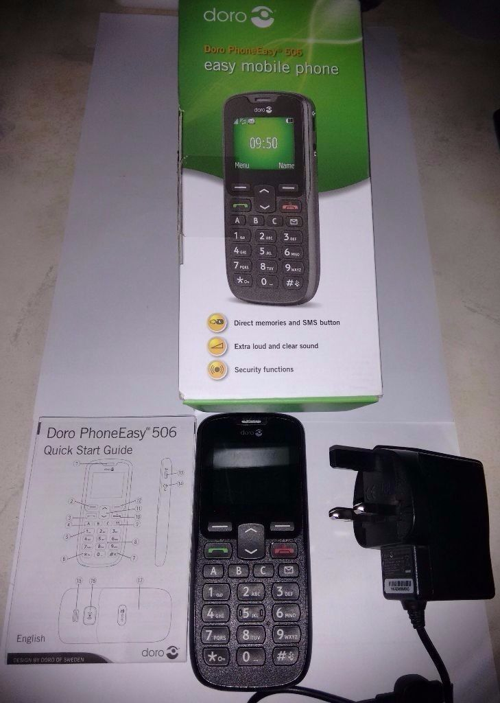 Basic, Simple Phone, Orignal Box, Sim free/ Unlocked