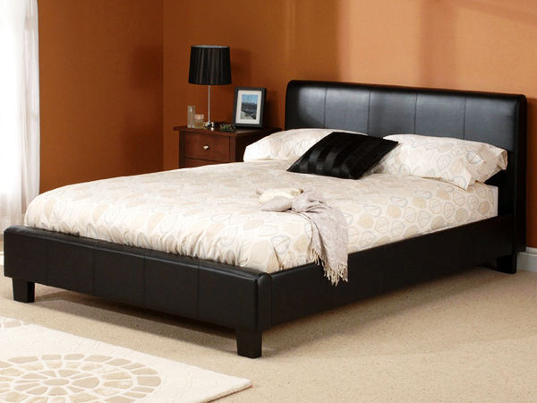 BRAND NEW- Kingsize Leather Bed w/ 10inch Dual-Sided Full Orthopaedic Mattress Single/King available