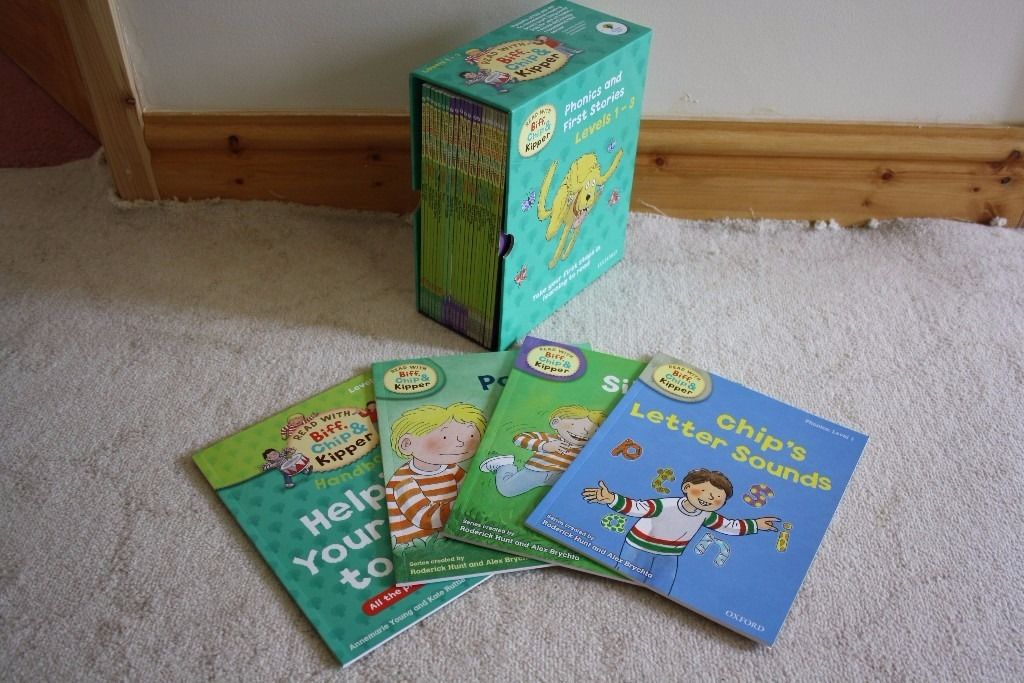 Phonics and First Stories Box Set Levels 1-3 - Excellent Condition