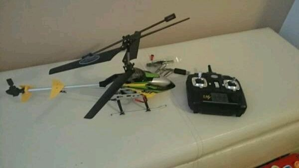 Radio Controlled Helicopter As New