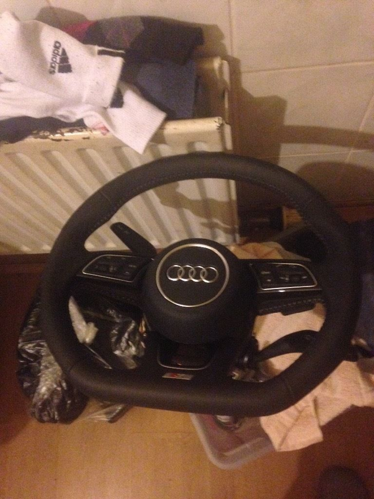 2016 flat bottom steering a3 rs3 rs5 rs6 a4 a3