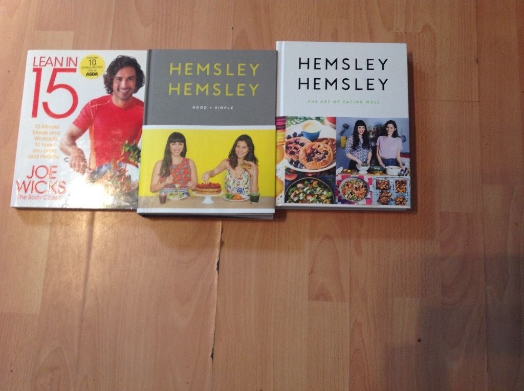3 healthy eating cook books