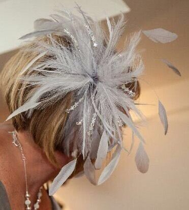 FASCINATOR WITH DIAMANTÉ