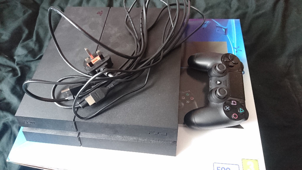 PS4 500GB with games