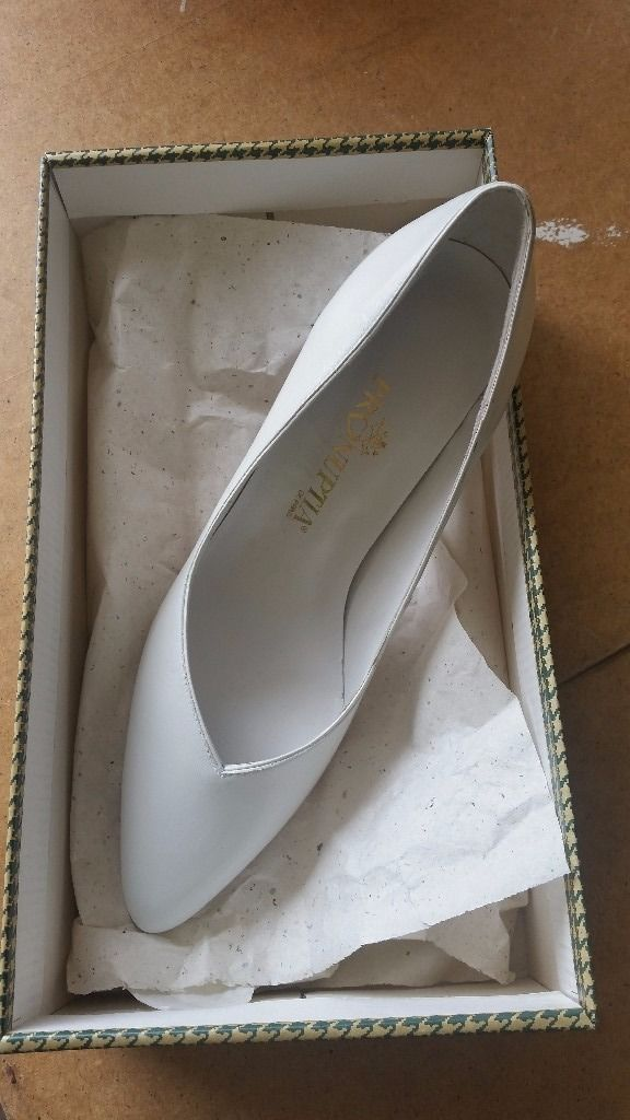 White Pronuptia wedding Shoes