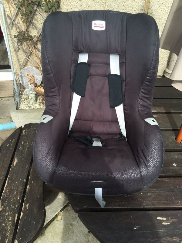 Childs car seat reclining