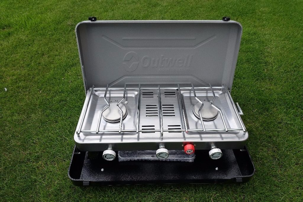 Outwell Gourmet Cooker 3 Burner Stove