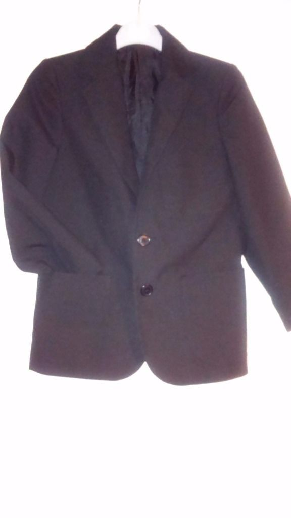 M&S Black School Blazer age7