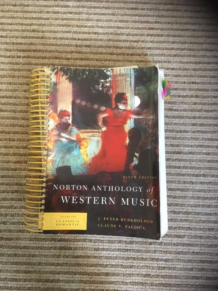 Norton Anthology of Western Music (volumes 1-3), Norton History of Western Music