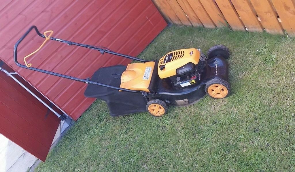 Petrol Lawn Mower and Hedge Trimmer
