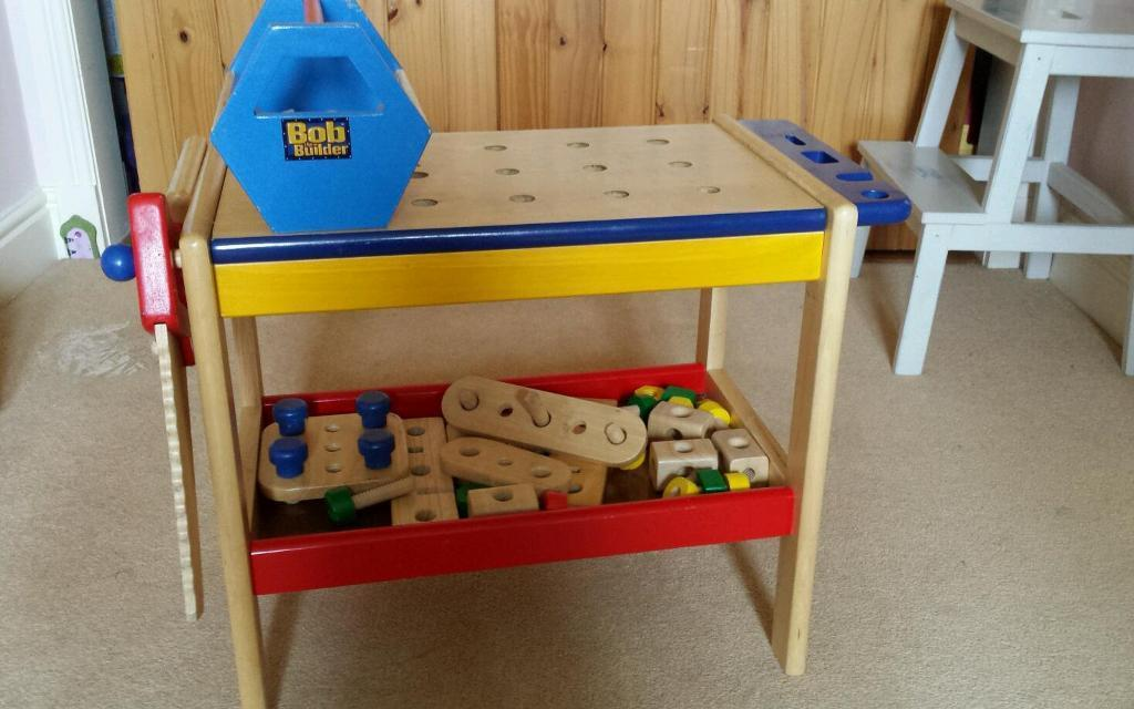 GLTC work bench and accessories