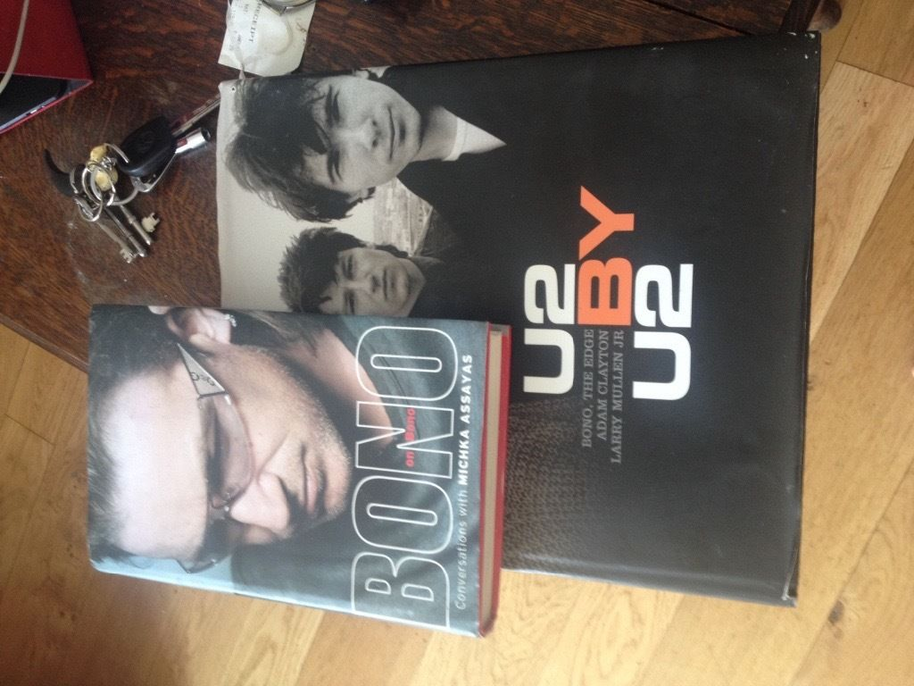 U2 books for sale - cheap as chips