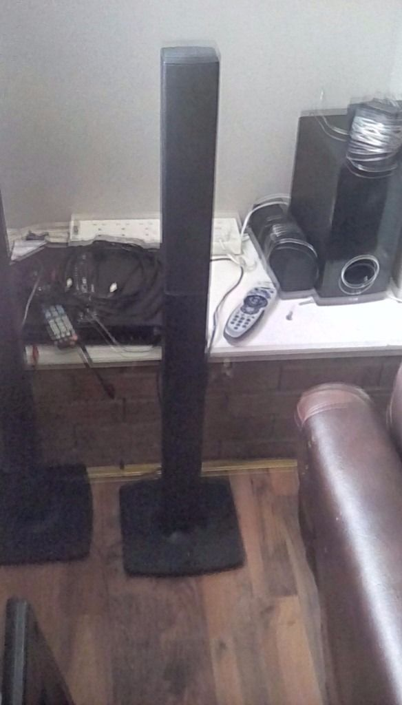 Lg Hd dvd aux usb all tower speakers : ful set up need gone asp