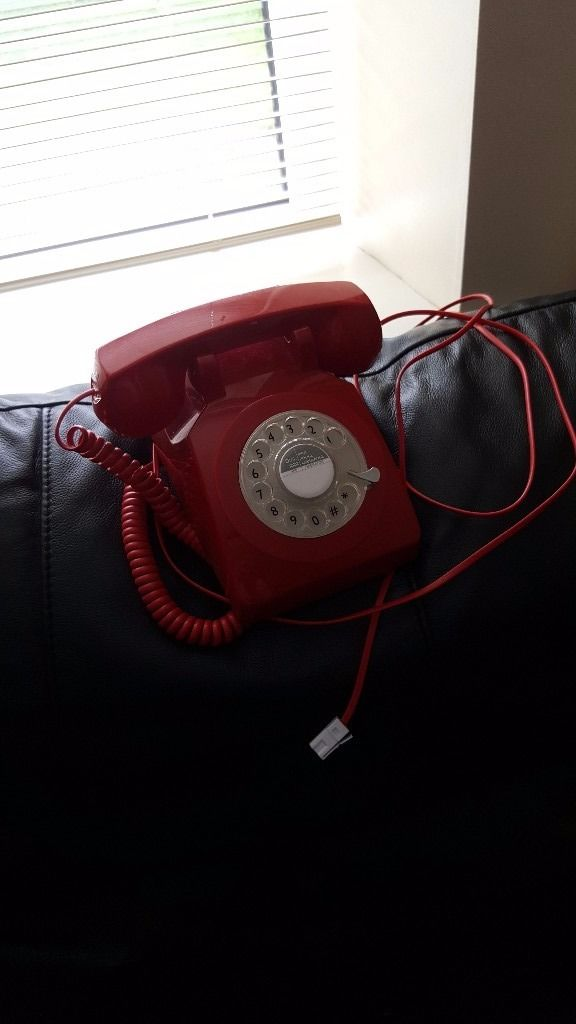 Retro reproduction house phone.