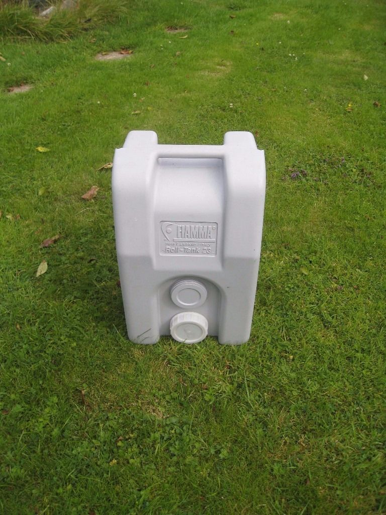 Fiamma 25ltr. Grey Waste Container