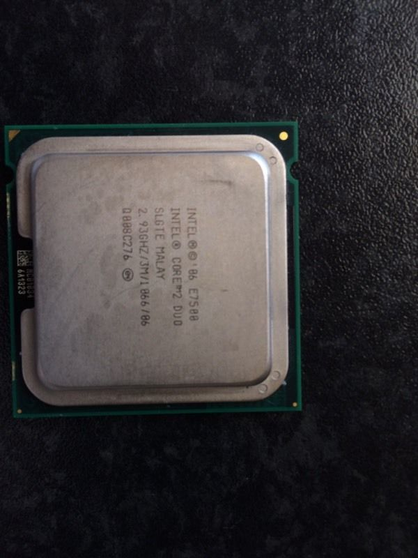 Intel E7500 CPU 2.93GHz