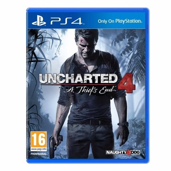 Uncharted 4 A Thief's End / USED ONCE AND STILL AS ONLINE CODES IN BOX/ FOR SALE OR SWAP