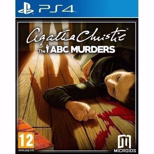 Agatha Christie's Poirot The ABC Murders / PS4 GAME / FOR SALE OR SWAPS