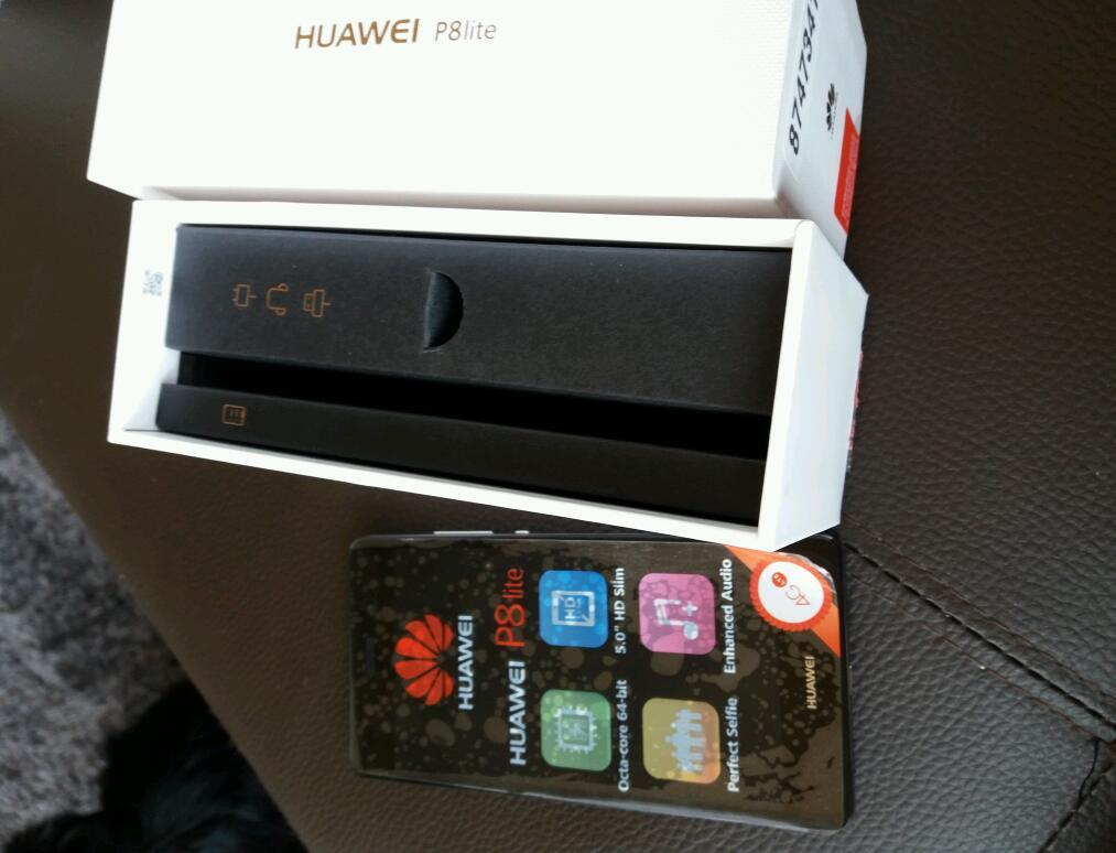 Huawei p8 lite mobile phone on Vodafone brand new