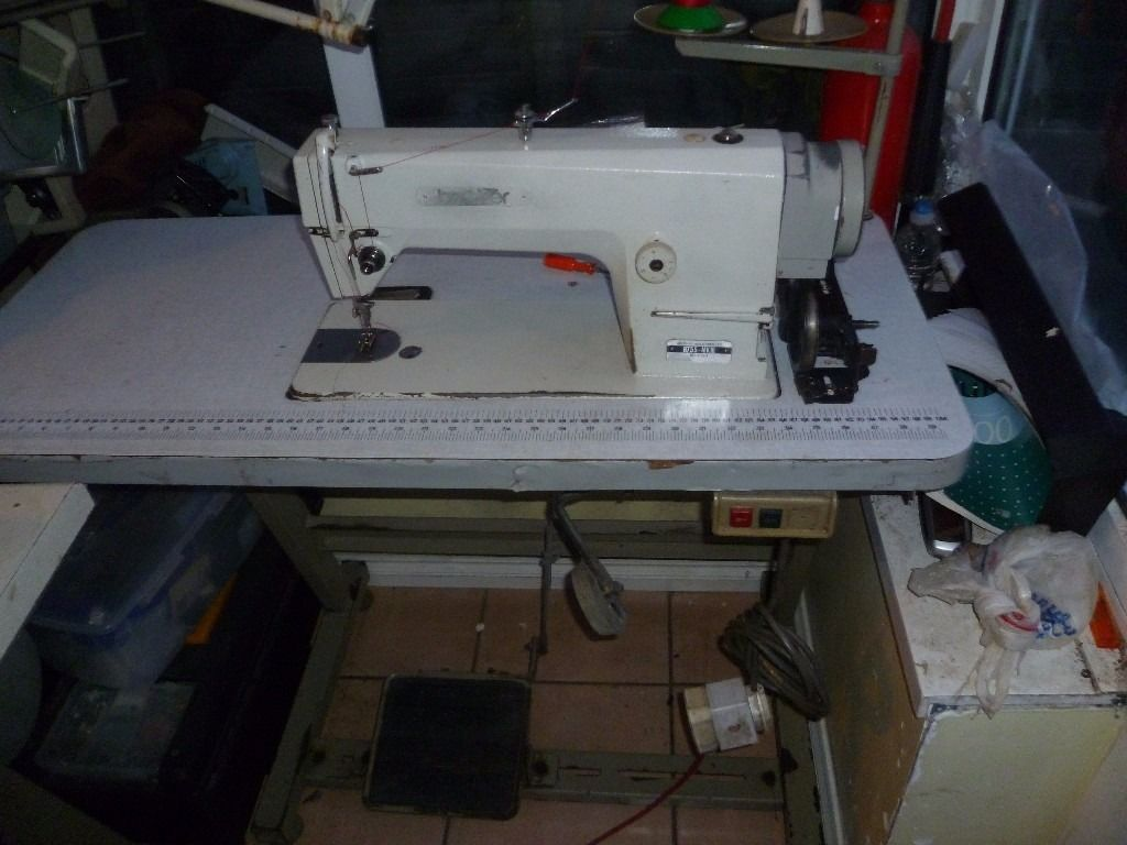 WHITE BROTHER Industrial FLATBED sewing machine