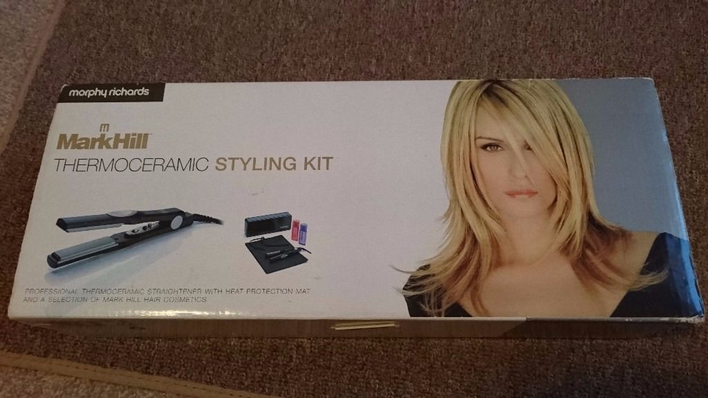 Mark Hill thermoceramic straighteners & accessories - unused in original packaging