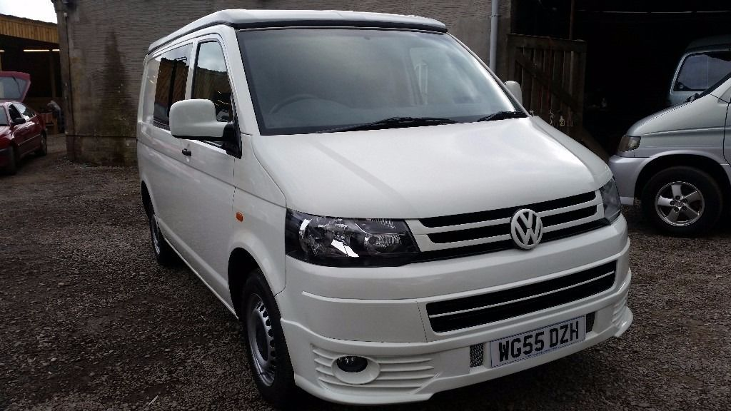 VOLKSWAGEN TRANSPORTER T5 POP TOP LOW MILES ONLY 76,000 FROM ONE OWNER 1.9 TD ..