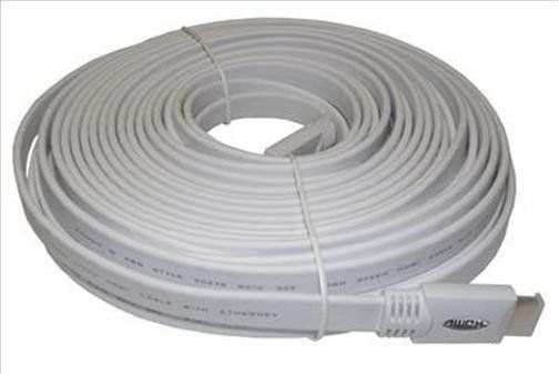 15 metre HDMI Cable flat white