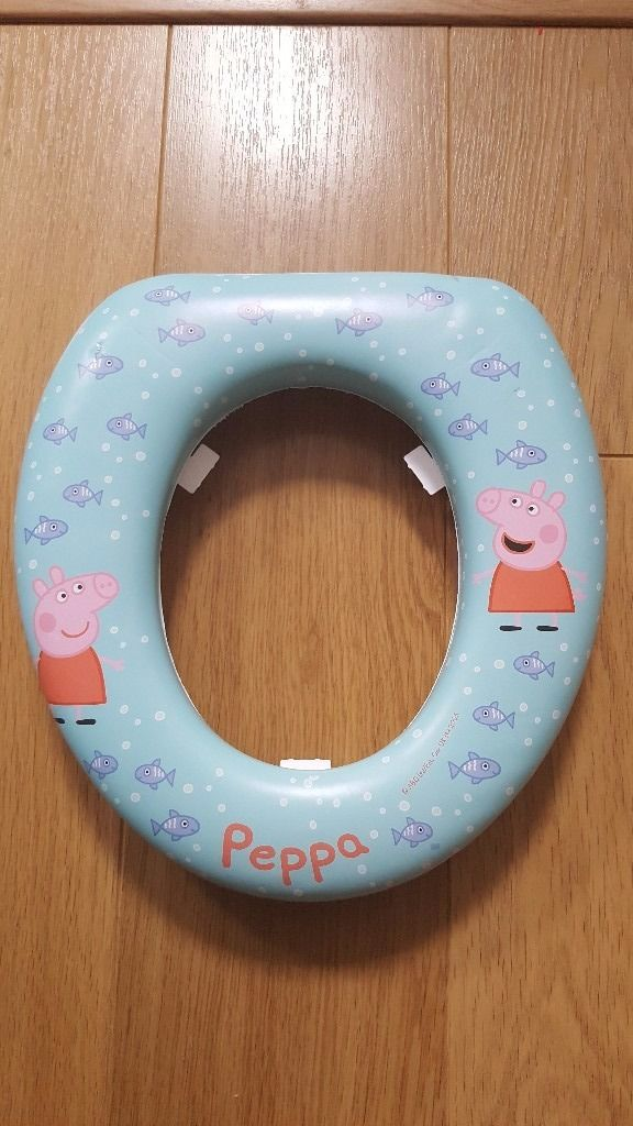 Peppa Pig padded toilet training seat