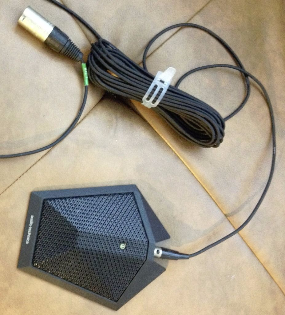 Audio Technica AT871R condenser boundary microphone