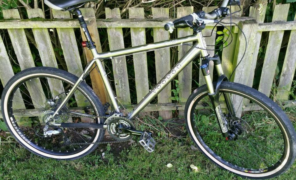 Swap Voodoo D-jab Titanium Mountain Bike Lge