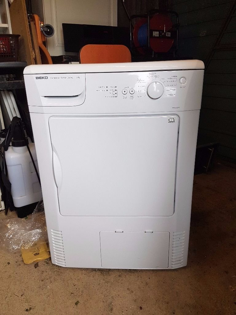 BEKO DRCS68W Condenser Tumble Dryer - White