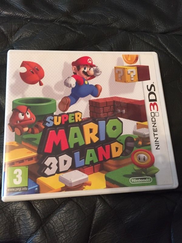 Mario 3D land 3ds game