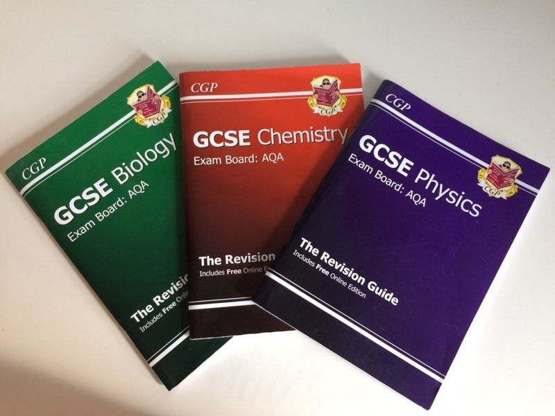 CGP Individual Triple Science Revision Guides for AQA exam board