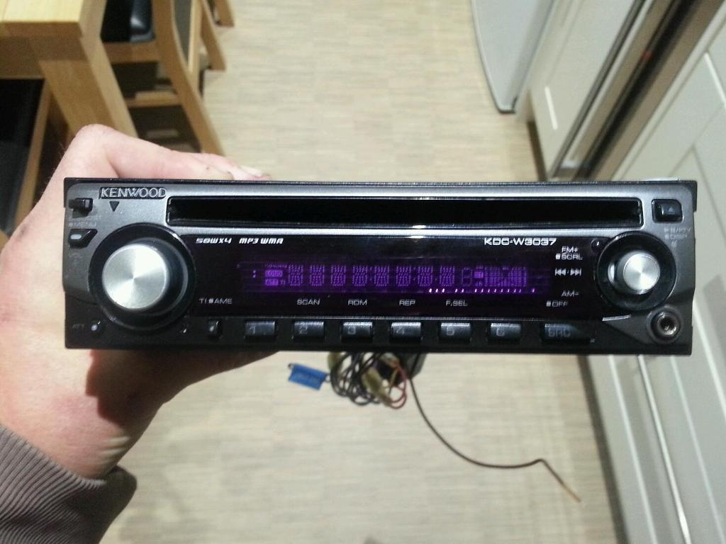 Kenwood cd mp3 player