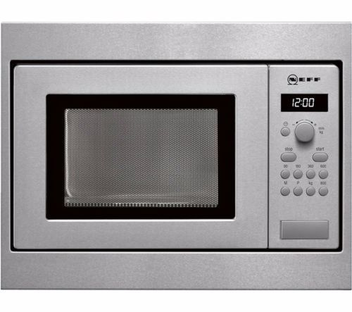 Neff H53W50N3GB 800W 17L Built-in Steel Microwave Oven For A 50cm - Brand new