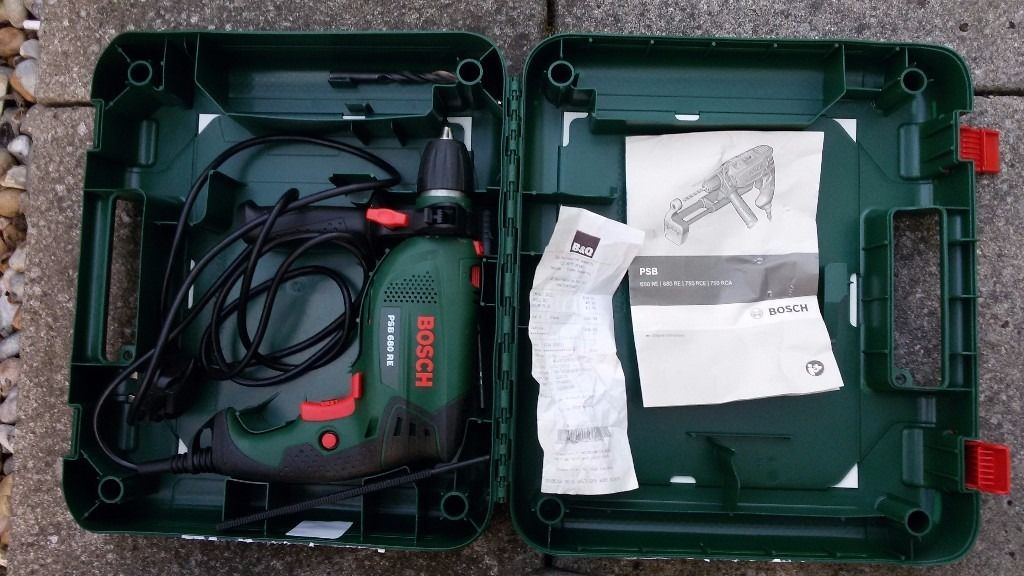 Bosch drill *like new condition: used once*
