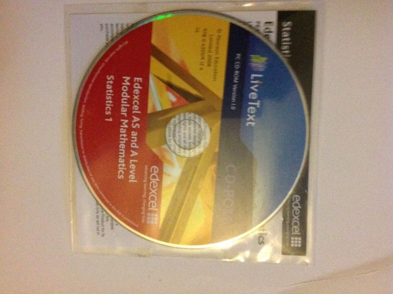 EDEXCEL S1 BOOK ( VERY GOOD CONDITION )